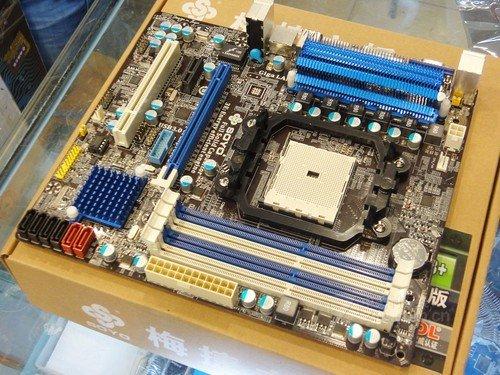APU装机推荐 梅捷全固节能A75售588元