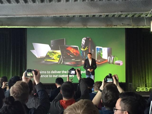 宏碁推2016全系新品 除了游戏PC还有VR的消息