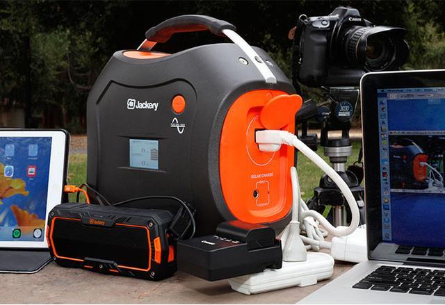 便携太阳能发电机 让你在户外也能看电视