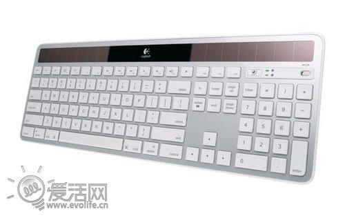 罗技推Mac用无线太阳能键盘 59.99美元