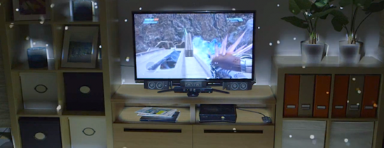 微软推出新项目 将客厅变为沉浸式3D游戏场景
