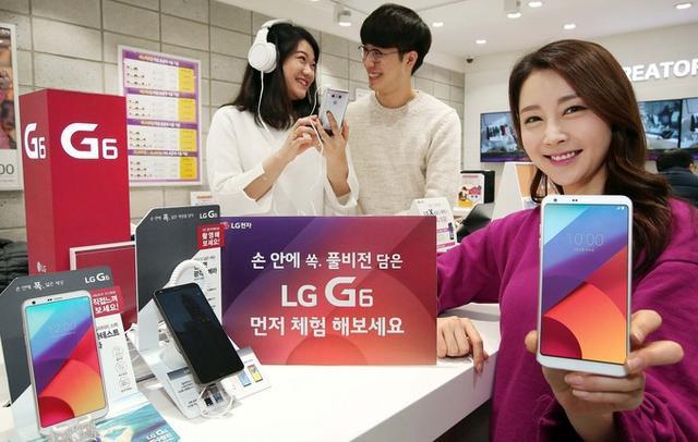 被蓝绿小米打压严重!LG G6或将退出中国市场