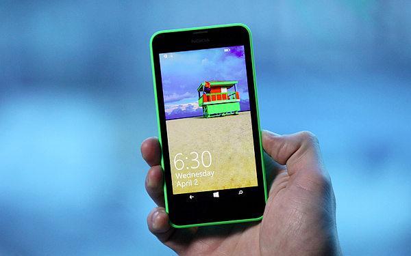 WP8.1系统诺基亚Lumia 630预约 售价999元