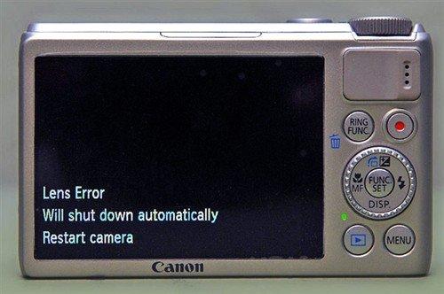 佳能证实PowerShot S100镜头存在问题