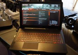 EVGA推出高性能游戏笔记本 搭配120Hz 1080P屏幕