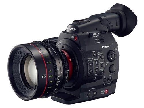 可拍4K RAW视频 佳能开发摄像机C500