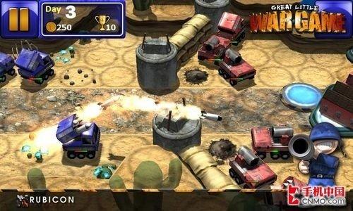 回合制策略游戏 小小大战争登陆Android