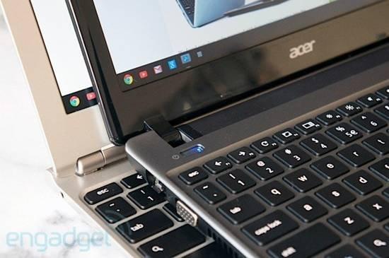 ACER Chromebook细节对比图