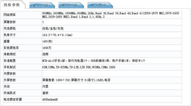 <a href=http://www.jiqiaonet.com/huawei/ target=_blank class=infotextkey>华为</a>下月或推轻旗舰 说白了就是个千元机