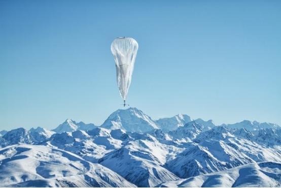 """谷歌""""互联网""""气球放飞了!随时随地能上网"""