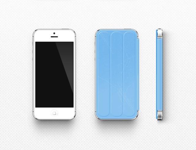 iPhone 5保护套Smart Cover亮相 概念设计精致