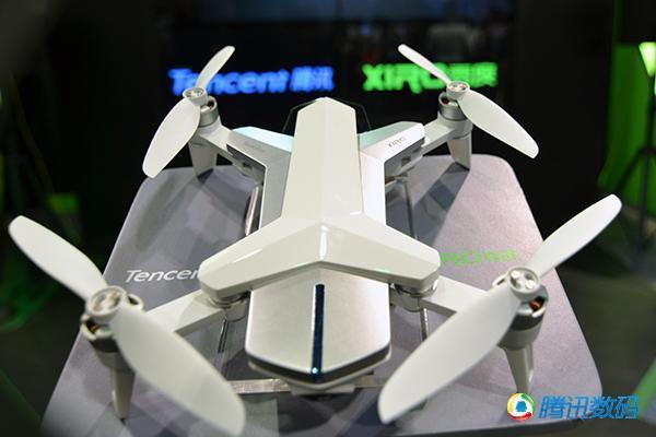 """腾讯首款无人机产品""""空影YING""""正式发布"""