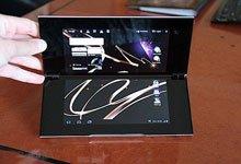 索尼Tablet P屏幕正面
