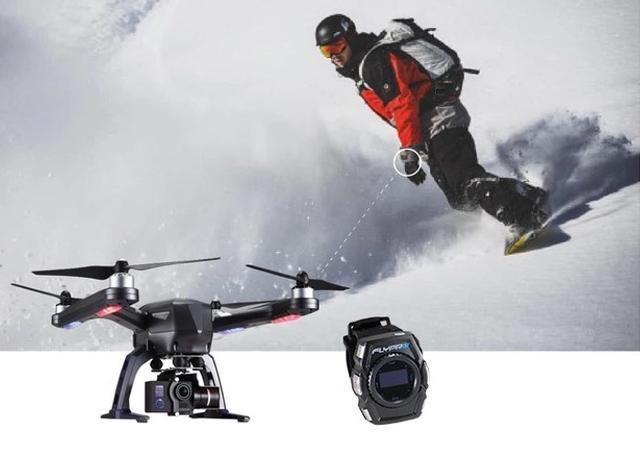 FlyPro XEagle无人机可直接用智能手表控制