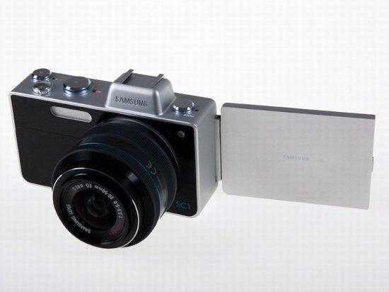 未來感十足三星雙屏幕概念數碼相機SC1曝光