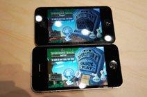 四代iPod touch屏幕对比iPhone 4