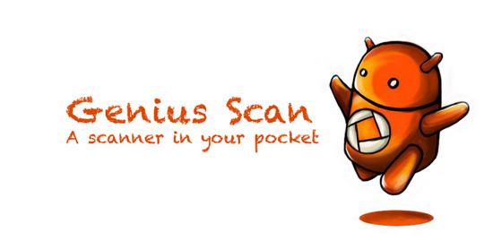 安卓Genius Scan:简单好用的扫描仪软件