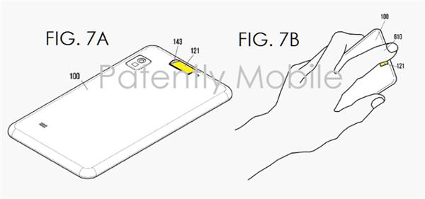 三星又晒Home键专利 指纹识别挪到机身背部