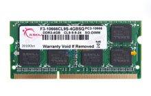 G.SKILL DDR3-1333 4GB笔记本内存