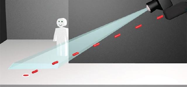 扫除视线盲区 可以探测转角后物体的特殊相机