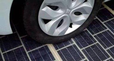 将太阳能电池板铺在马路上是怎样一种体验?