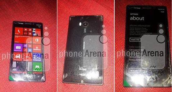 诺基亚Lumia 929大量谍照曝光 12月中旬上市