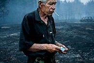 俄罗斯的山林火灾