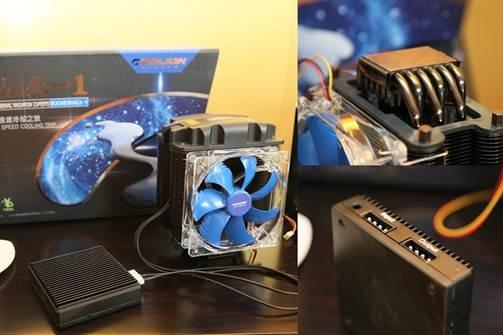 液态金属散热器问世 4G+主频时代到来