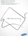 三星本月15日发布Galaxy Note 10.1平板