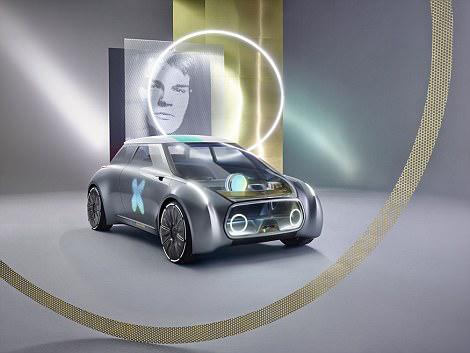 宝马展示Mini概念车 居然可以根据用户情绪变色