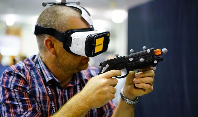 三星VR专利曝光,未来的VR要这么玩?