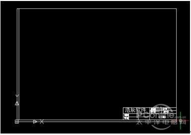 浩辰CAD2012CAD教程之网格制作图框专用cad比例缩放命令企业图片