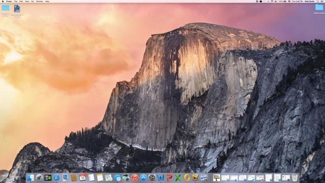 OS X 10.10 Yosemite体验 与iOS联系更紧密