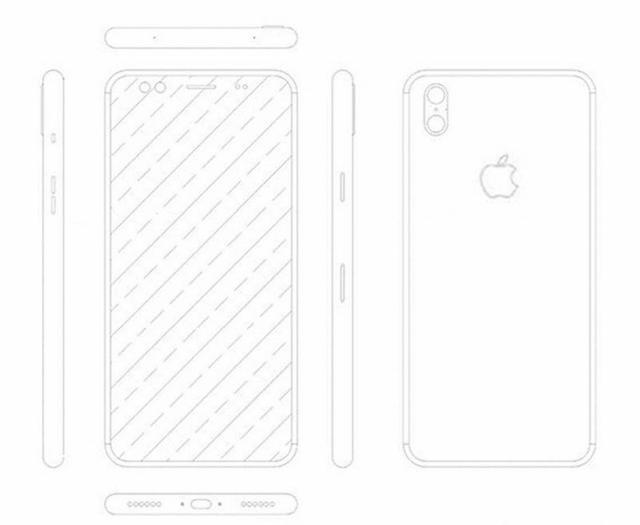 史上最靠谱iPhone 8渲染图出炉 全面屏+竖向双摄
