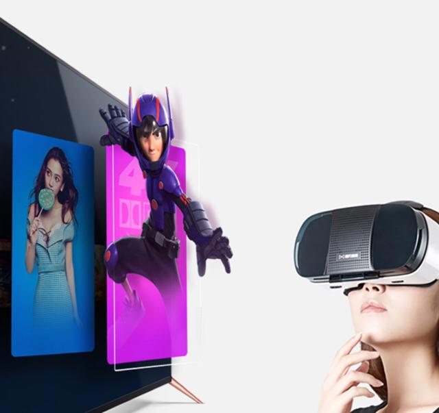 沉浸VR感受风与星空的邂逅 暴风45X定制版VR电视简评