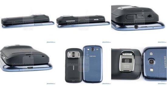 诺基亚808/三星Galaxy S III对比评测