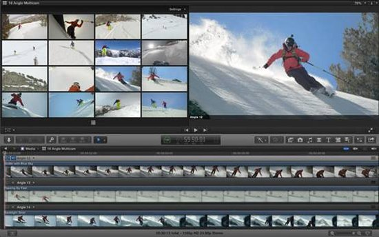 苹果专业视频剪辑软件Final Cut Pro升级