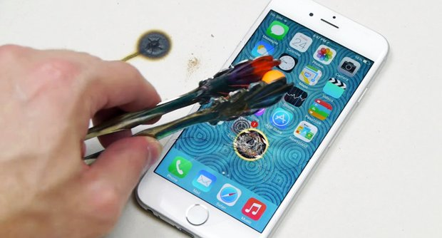 iPhone 6��Ļ�����Ȼ����̺�����