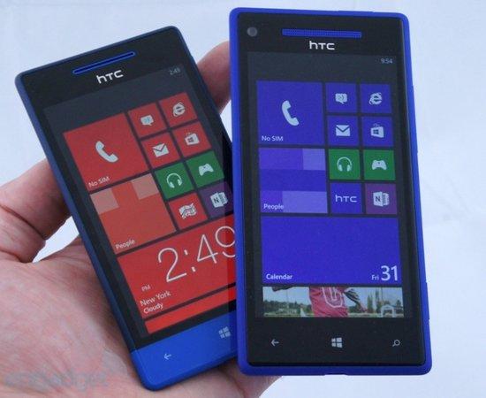HTC Windows Phone 8S试玩 竟无前置摄像头!