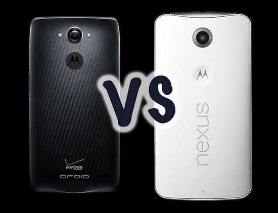 Droid Turbo对比Nexus 6:有什么区别