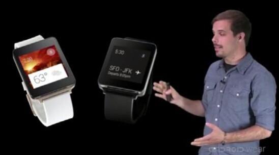 谷歌展示Android Wear通知功能