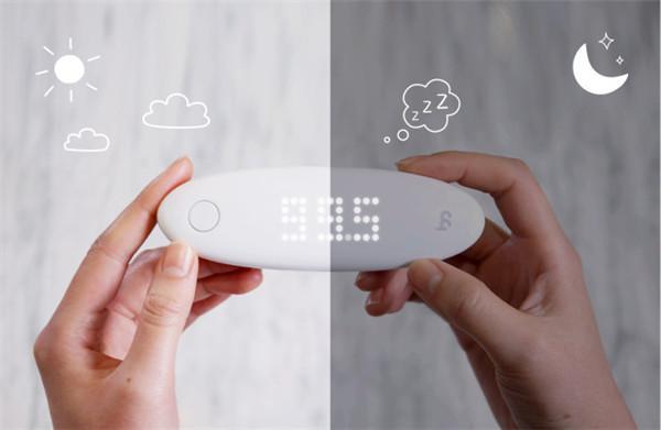 这个智能儿童耳温计好漂亮 1秒完成测量还能连手机