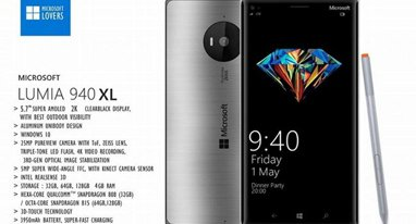 Lumia 940XL����ȷ�� 5.7��2K��+����810
