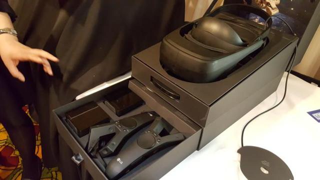 LG SteamVR头盔上手:模仿Vive 只是分辨率更高