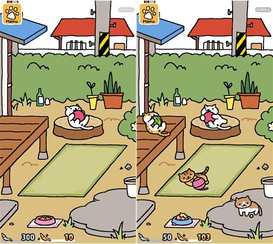 猫咪后院:在手机里建个后院 然后养好多猫