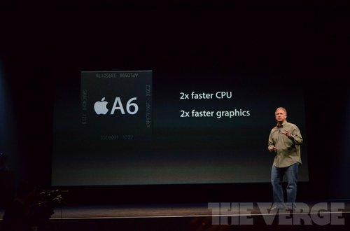 iPhone5的A6处理器
