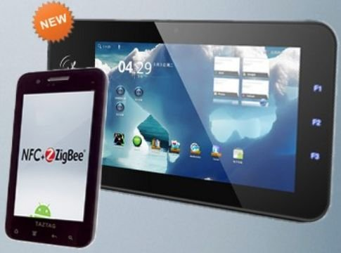 全球首款支持NFC和ZigBee技术平板电脑亮相
