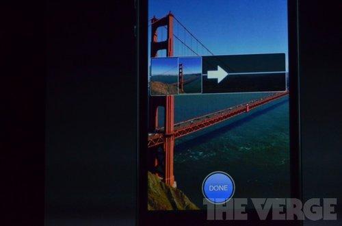 iPhone5的全景拍摄