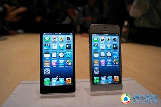苹果iPhone 5现场体验 轻薄宽屏是亮点