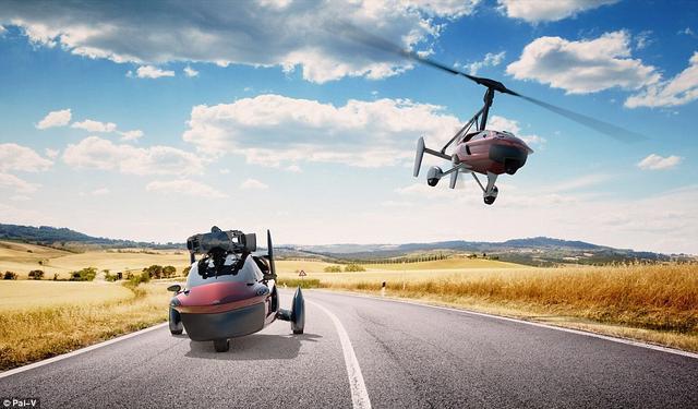 飞行汽车不是开玩笑!售价40万刀可续航354公里